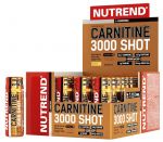 Nutrend CARNITINE 3000 SHOT, 20x60 ml, jahoda