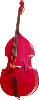 Stentor Double Bass 3/4 \\'\\'Rock a Billy\\'\\' Red
